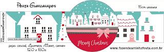 Navidad Retro: Imprimibles para Fiestas para Descargar Gratis.