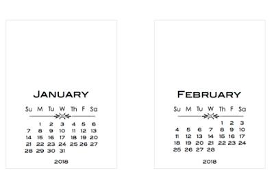 2018 a5 calendar