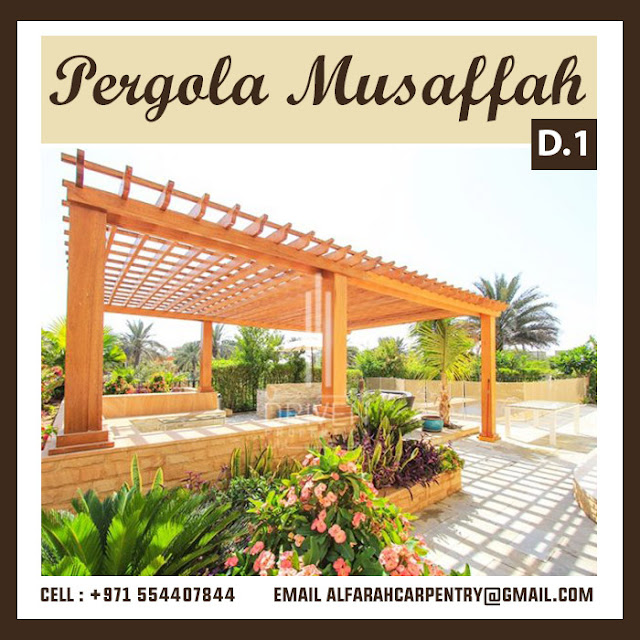 Pergola At Al Bateen Abu Dhabi City Project