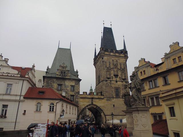 Torre del Puente de Malá Strana (Praga) (@mibaulviajero)