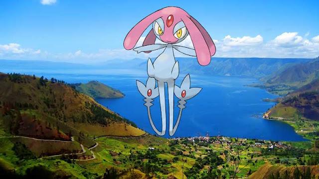 Salah Satu Pokemon Legenda Ada di Danau Toba 2