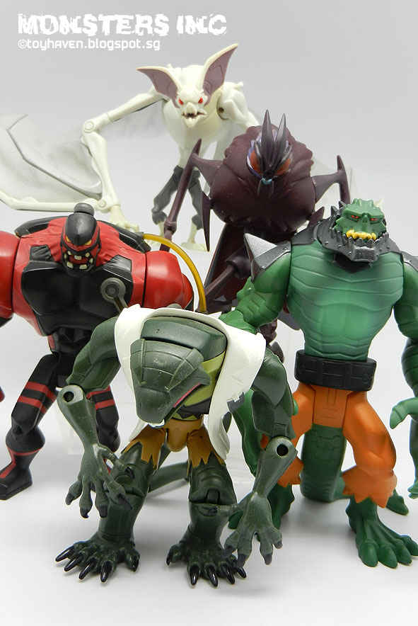 Monsters on Dc Universe Killer Croc Toys