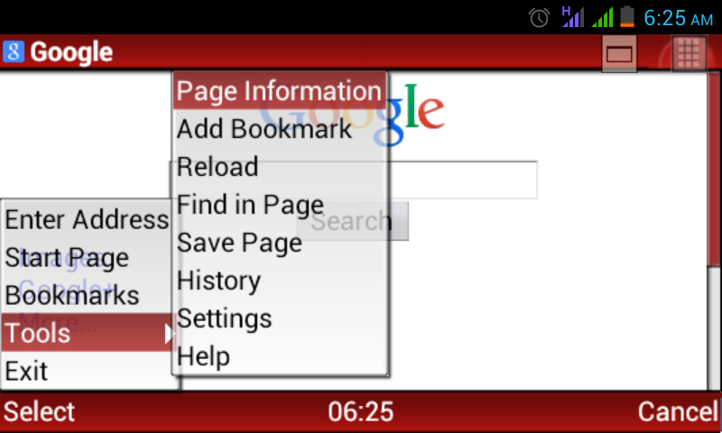 opera mini pour android 4.2.2
