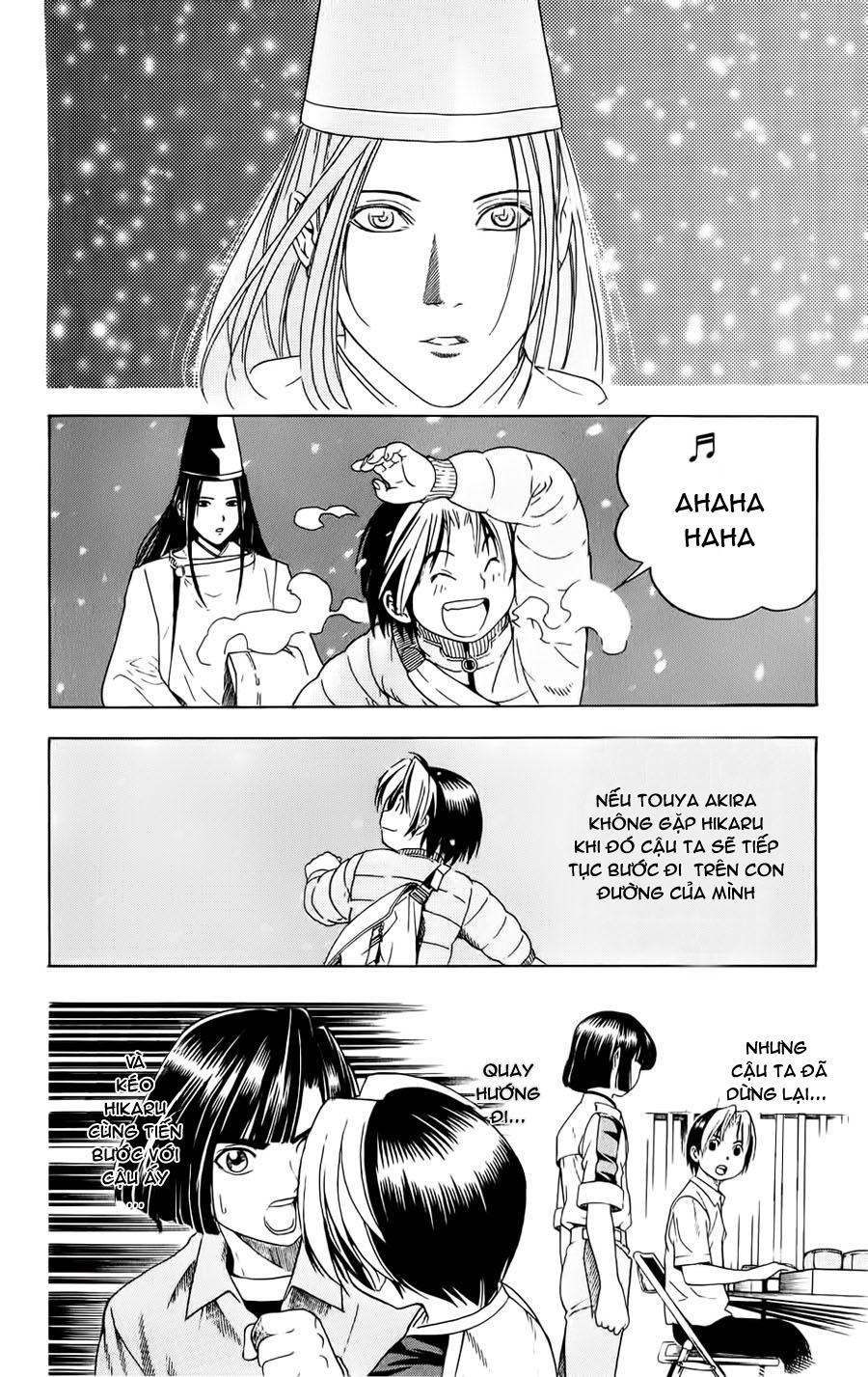 Hikaru No Go hikaru no go chap 50 trang 17
