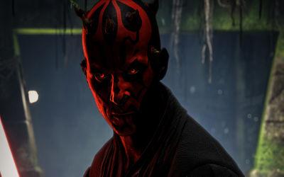 Dark Maul Star Wars - Fond d'écran en Ultra HD 4K 2160p