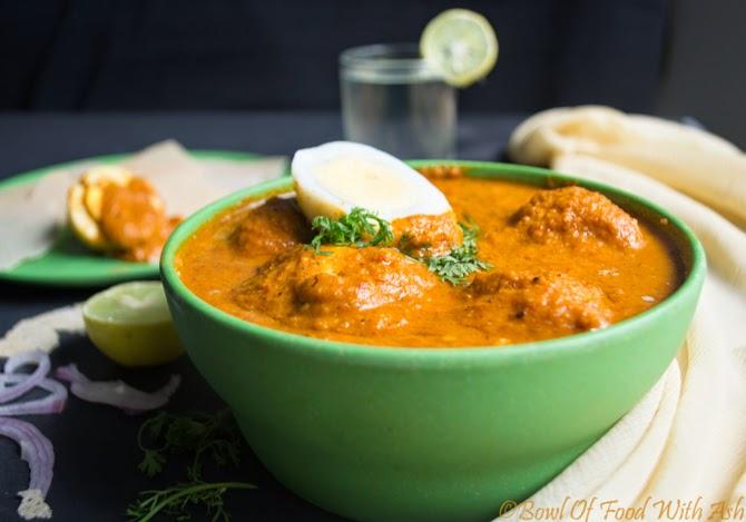 Egg Korma   Kurma  Recipe