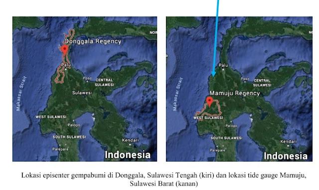 Gempa Tektonik di Palu-Donggala Sulawesi Tengah pada hari Jumat, 28 September 2018