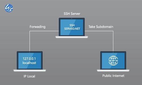 Cara Akses Local Web Server ke Public dengan SSH Gratis