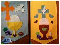 bannière pour la première communion