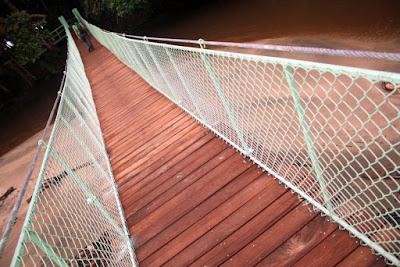 Puente Colgante en Manzanillo