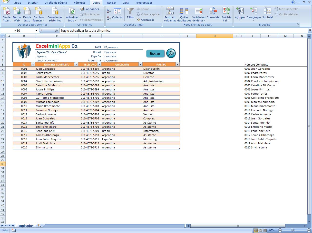 mini aplicaciones en Excel: Búsqueda Inteligente con Combobox Smart ...