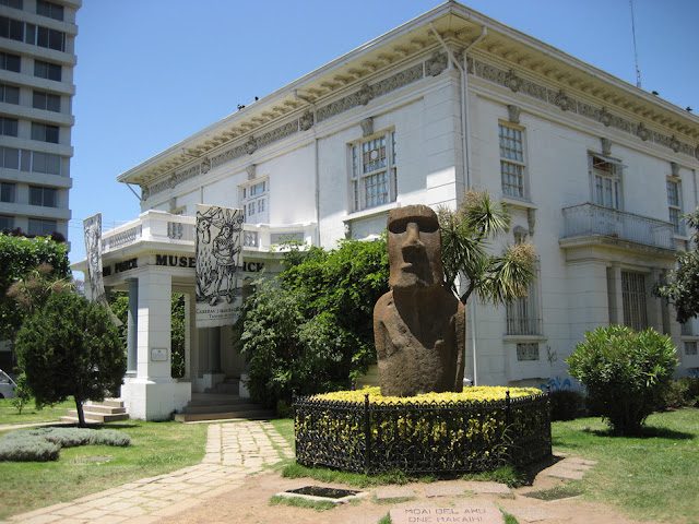 Museu de Arqueologia e História Francisco Fonck em Viña del Mar