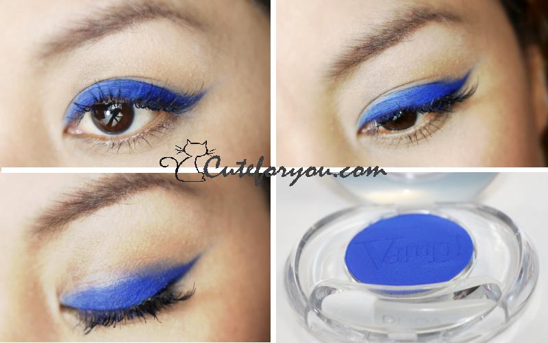 pupa milano blue eyes, azul, makeup , maquillaje azul, pupa milano, pupa compact eyeshadow vamp, beauty blogger argentina
