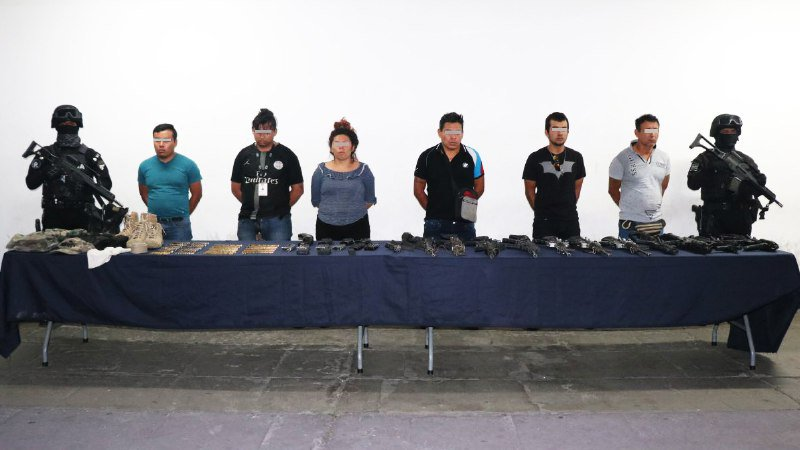 Caen 6 Huachicoleros que emboscaron a Marinos y mataron a 1 en Xicotepec, Puebla