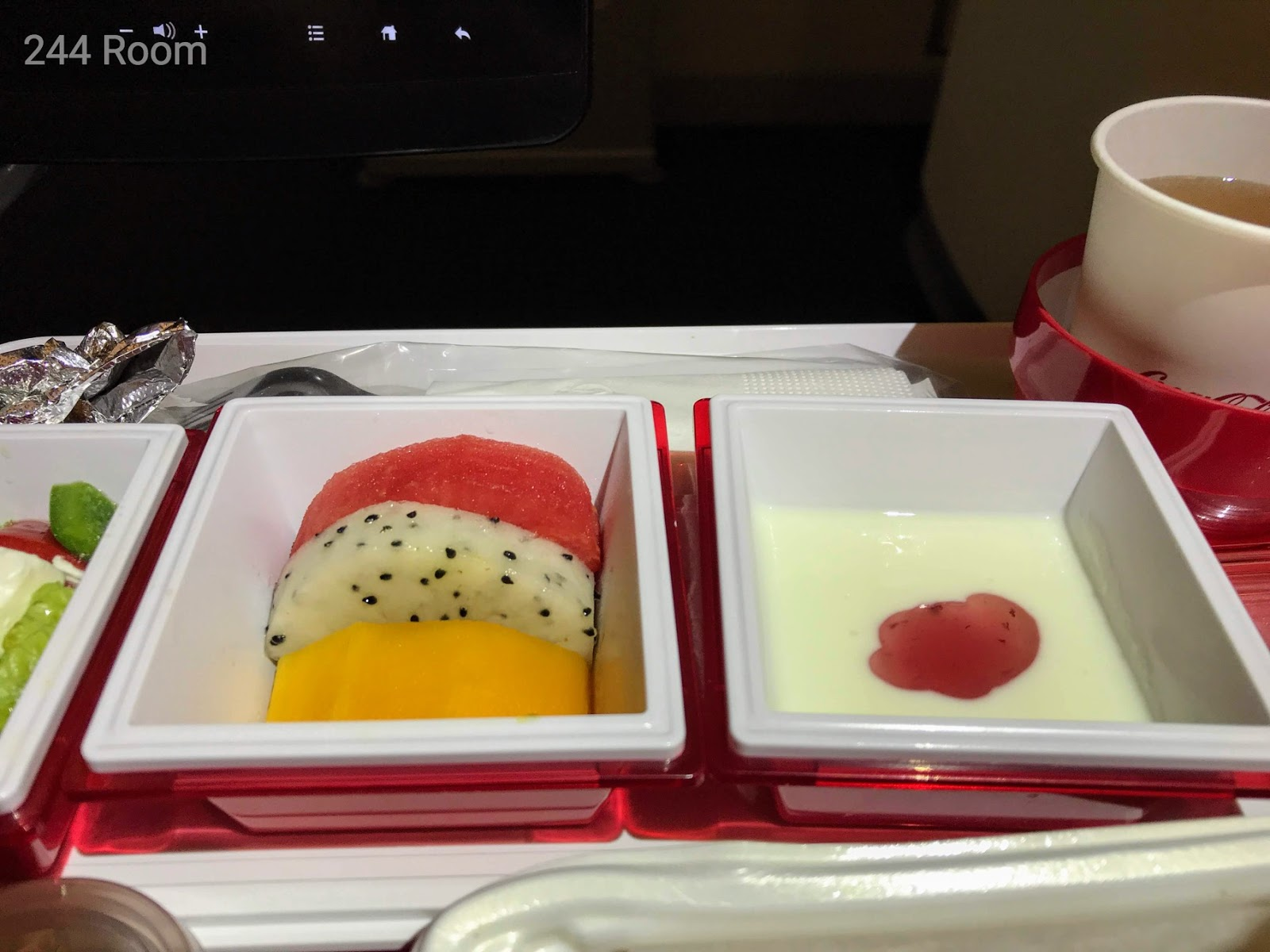 JL752 Flight meal 機内食5