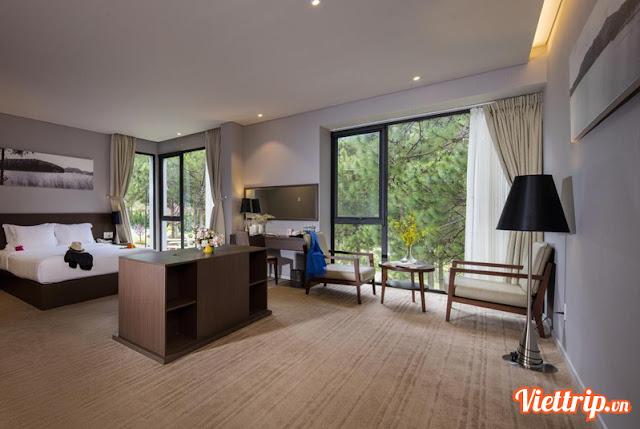 Phòng ngủ sang trọng - sạch sẽ - khu nghỉ dưỡng Terracotta Đà Lạt