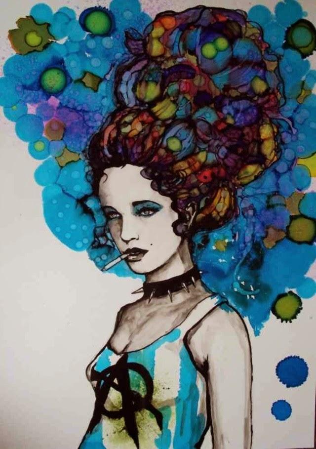 Психоделический поп-арт. Raffaella Bertolini