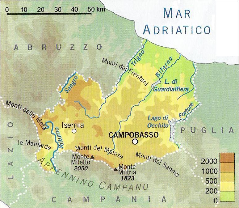 Il Molise Cartina.Chi Viaggia Impara Immagini Dal Mondo Italia Molise