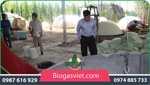 hầm biogas composite chất lượng