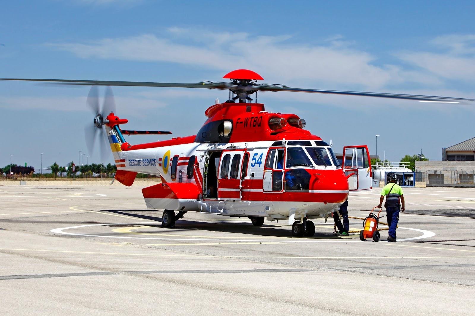Україні передано сьомий гелікоптер H225 Super Puma