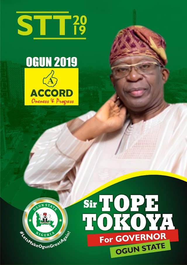 Ogun Accord Party Guber Candidate Cries Out Over Hijack Of Mandate