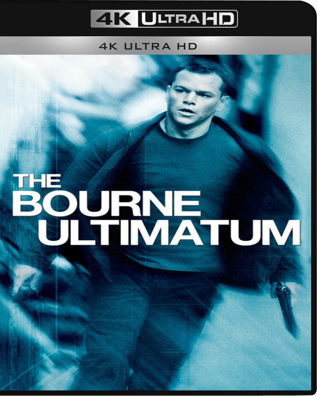 The Bourne Ultimatum [2007] [UHD] [2160p] [Latino]