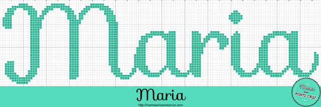 Nome Maria em Ponto Cruz