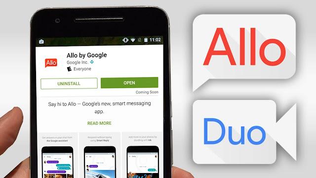 Allo la app de mensajería de Google
