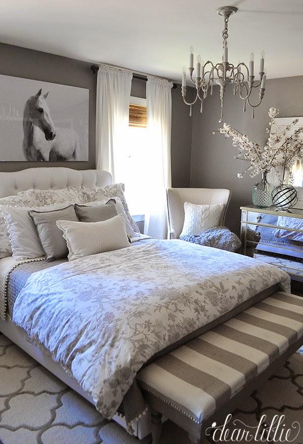 dear lillie some artwork for our gray guest room. Black Bedroom Furniture Sets. Home Design Ideas