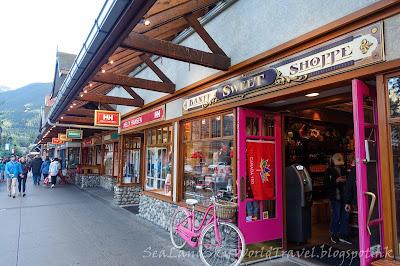 Banff 班芙, Banff avenue