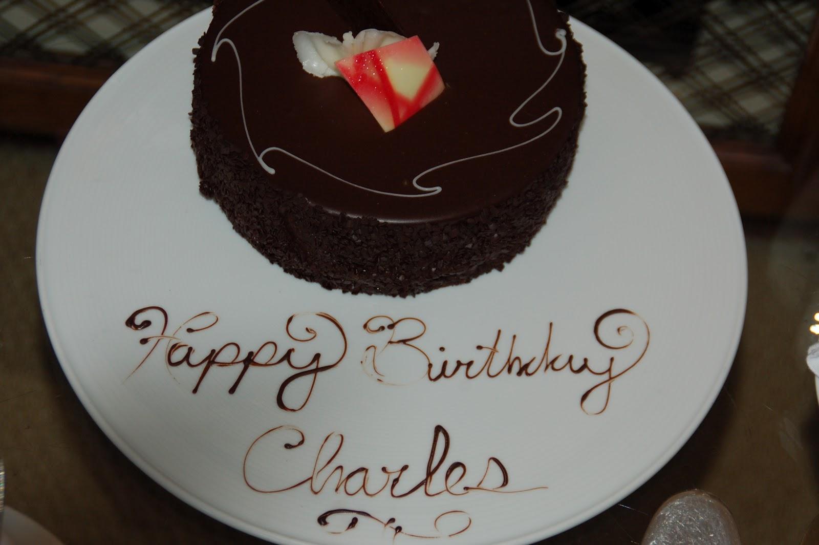 Charles Birthday Cake