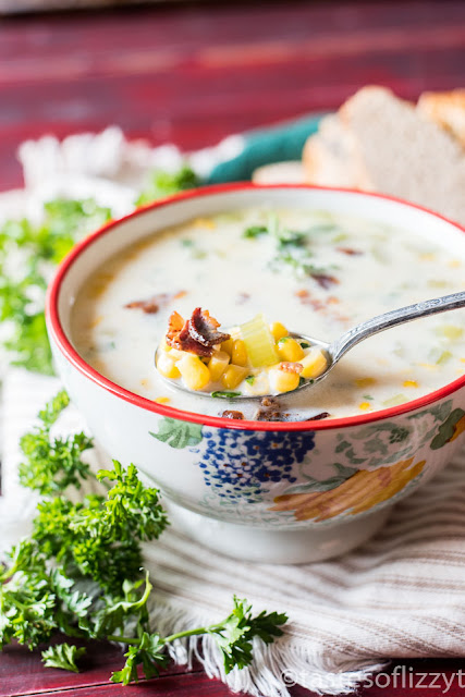 Easy Cream of Corn Soup by Tastes of Lizzy T's