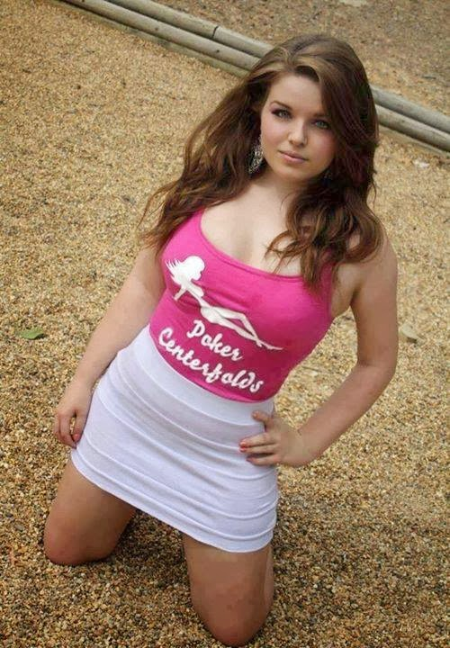 Gorgeous college girl