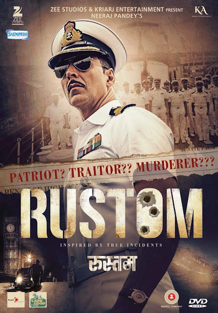Shemaroo Entertainment Ltd releases Rustom on Home Video Featuring Akshay Kumar and Ileana D'Cruz in the main lead
