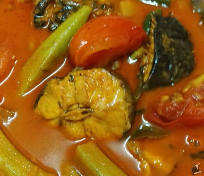 Resepi Gulai Kari Ikan Semilang Segar