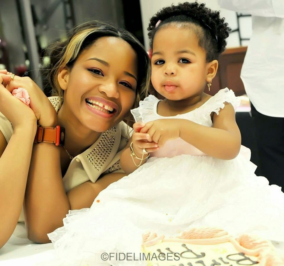 pictures from kanu nwankwos baby daughters christening