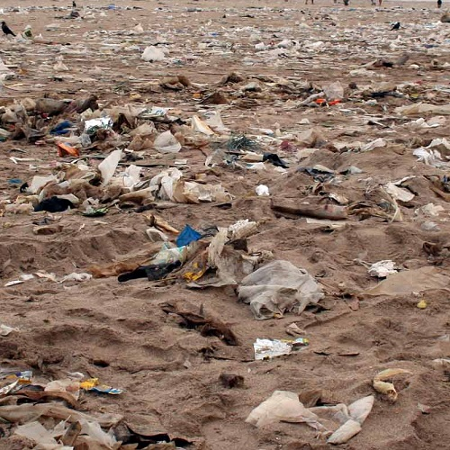 Land pollution with pictures and information