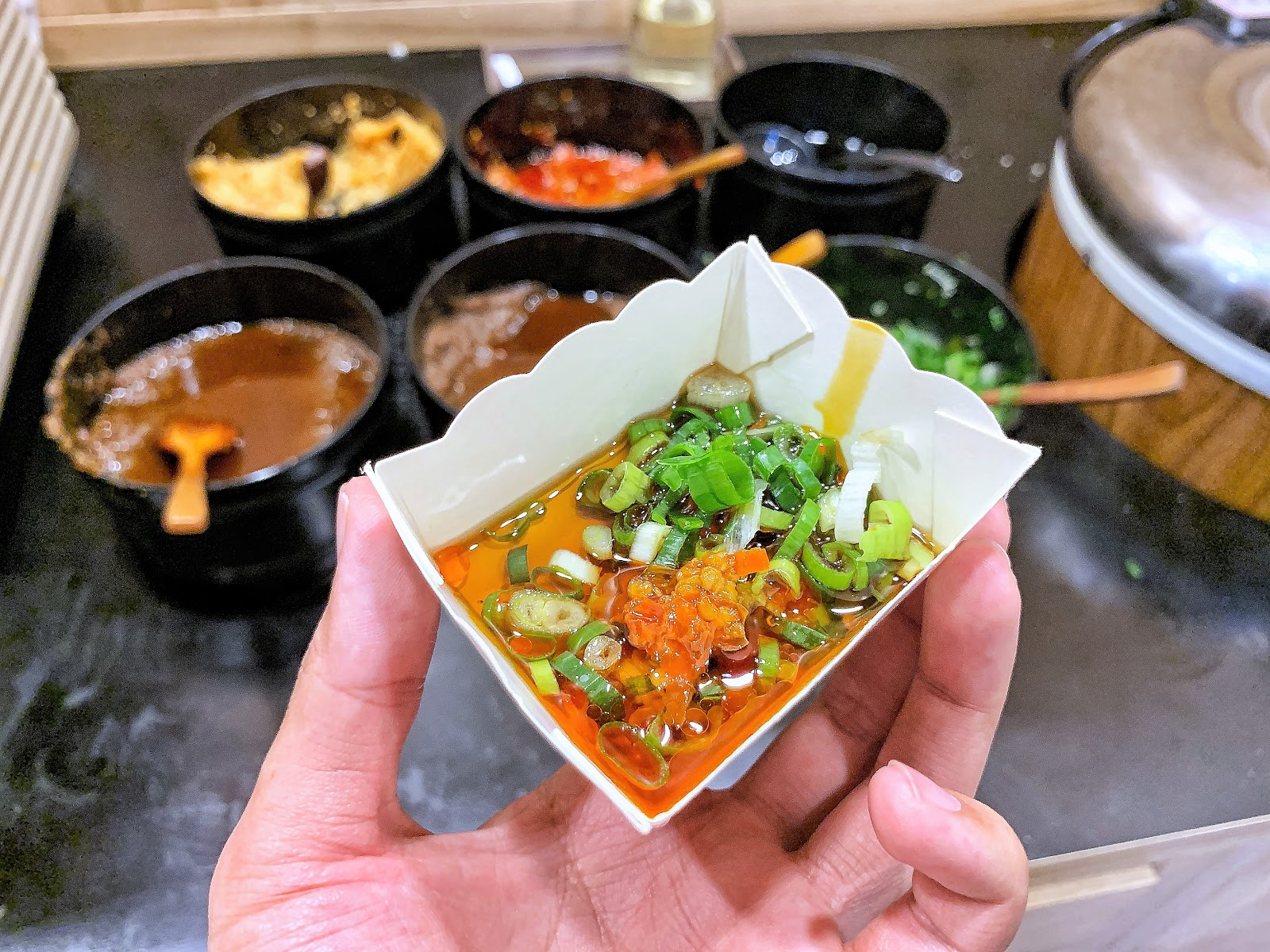 小石鍋醬料盒子