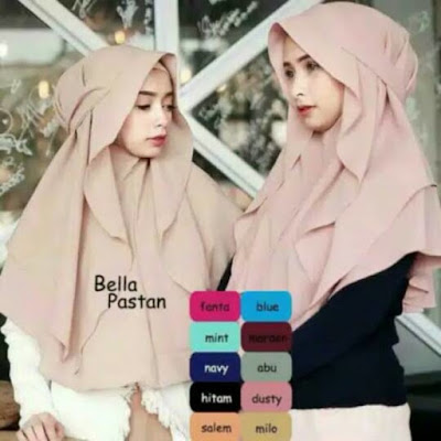 model hijab syar'i pesta