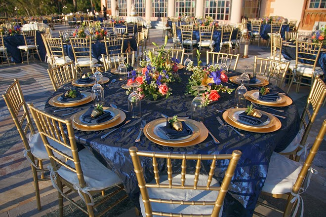 Gold And Navy Sophisticated Wedding Belle The Magazine
