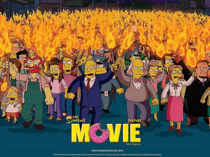 The Good The Bad And The Critic Review 871 The Simpsons Movie 2007