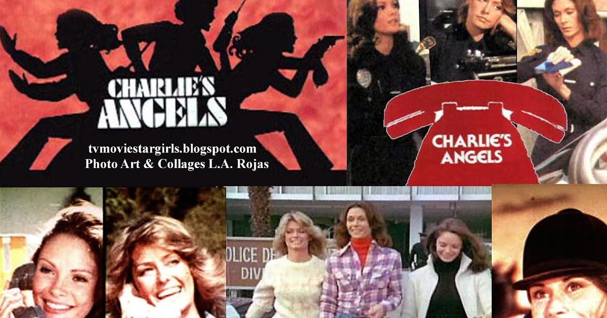 T.V.Movie Star Girls: Charlieu0026#39;s Angels 1976 Pin up Poster ...