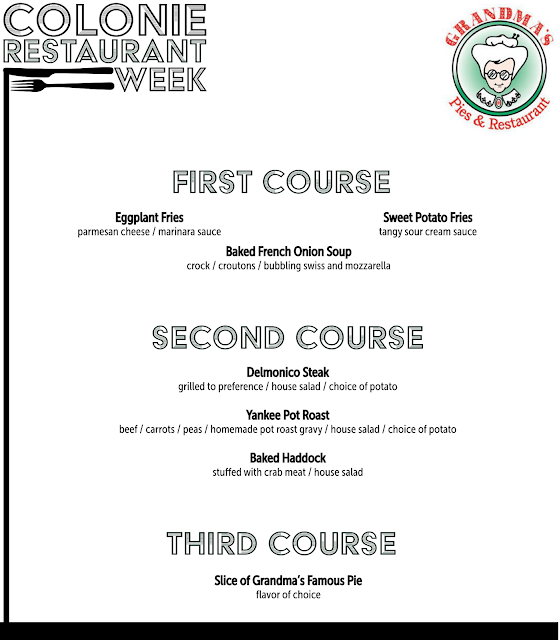 Click here to view our Restaurant Week Menu!