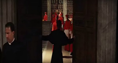 angels demons ewan mcgregor conclave sealing closing door vatican city sistine chapel cardinals cónclave capilla sixtina cardenales ángeles demonios ron howard pope illuminati Ангелы и демоны