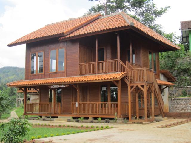 Desain Rumah Kayu Ulin Mempunyai Nilai Seni Tinggi