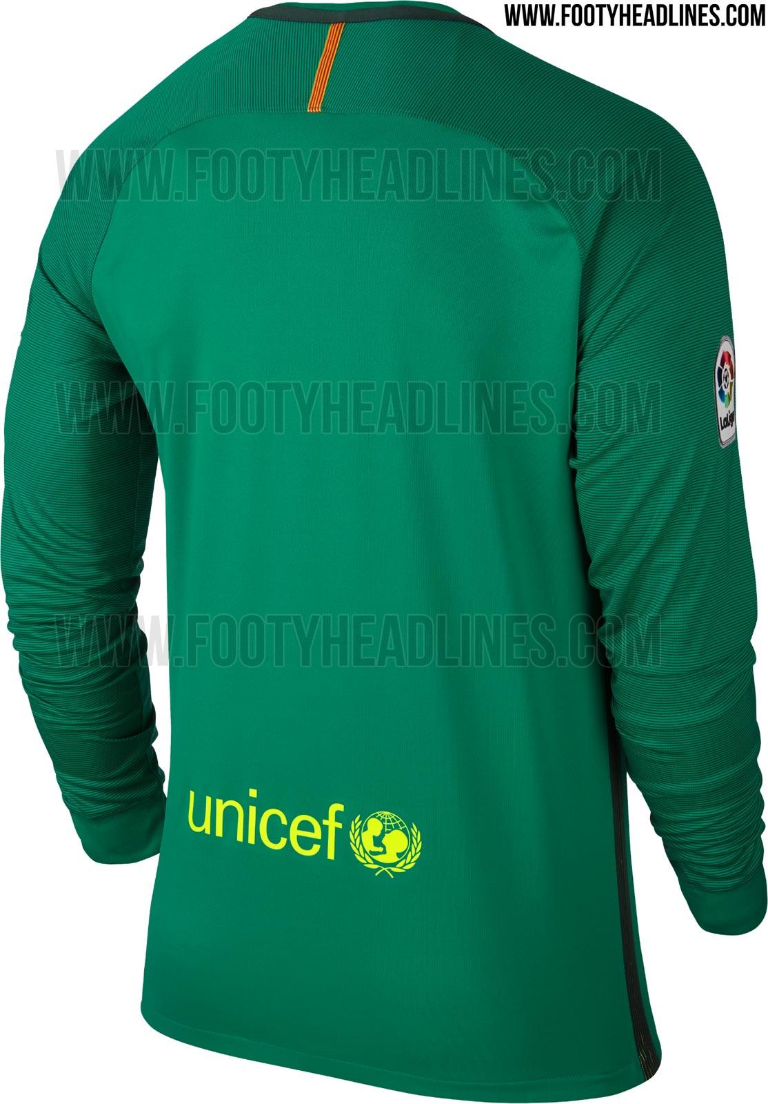 premium selection 84aeb 0ebca Barcelona Goalkeeper Home Kit - 0425