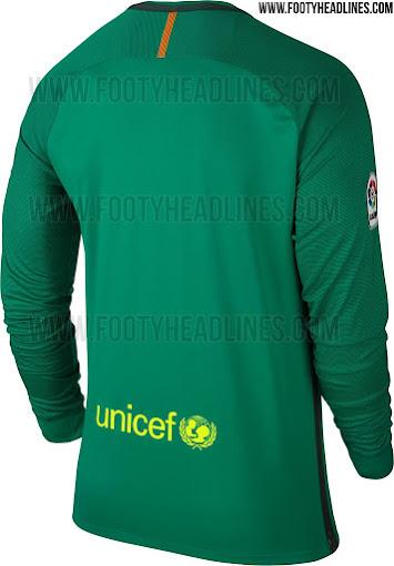 Camiseta portero FC Barcelona Camiseta portero FC Barcelona 4afd5b9b12976