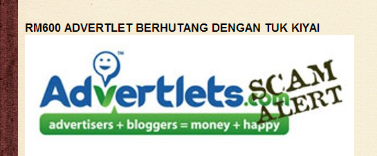 Advertlets Scam