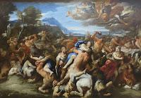 Batalla de Lapitas y Centauros, Luca Giordano, Museo Hermitage.JPG
