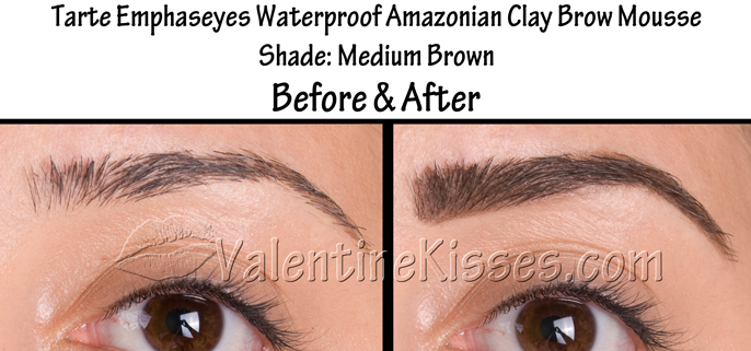 Valentine Kisses My Before Amp After For 14 Different Brow